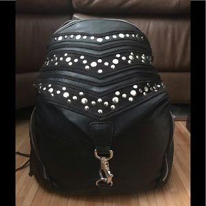 Steve Madden Faux Leather Studded Design Backpack